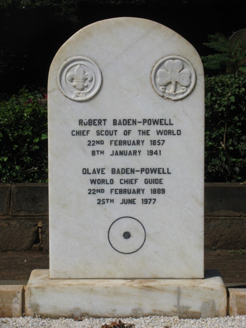 Baden Powell Gravestone - Gone Home