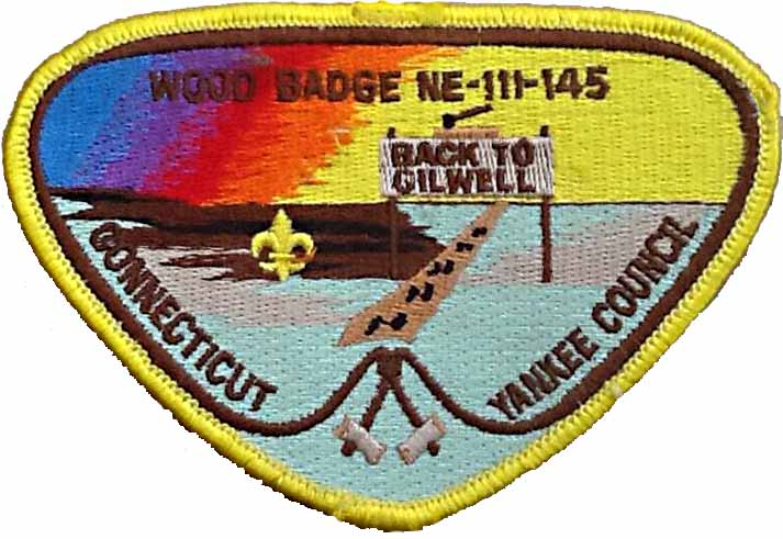 Wood Badge 1999 NE-III-145
