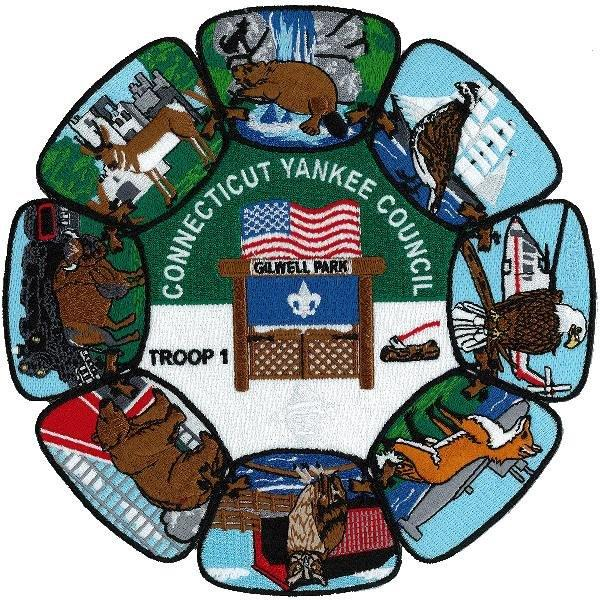 CYC Wood Badge Jacket Patch